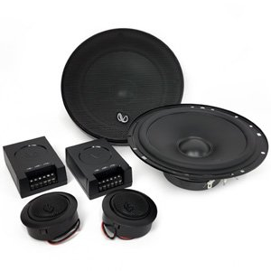 "Infinity Alpha 650C 6-1/2"" 6.5"" 2-Way 45W RMS Component Car Speakers"