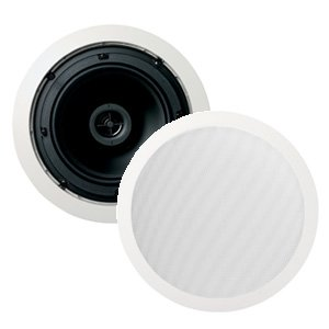 "Jamo 8.5CST 8"" 50W 2-Way 8 ohm 70V 100V Line In-Ceiling Speakers Pair"
