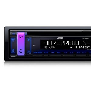 JVC KD-R991BT CD Receiver Bluetooth USB Aux Iphone Ipod Android