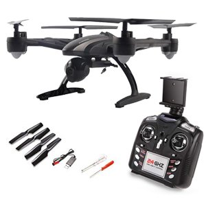 JXD 509G FPV Drone with Camera Live Video HD 2MP RC Quadcopter