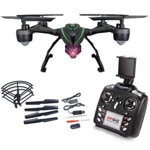 JXD 510G FPV Drone with Camera Live Video HD 2MP RC Quadcopter