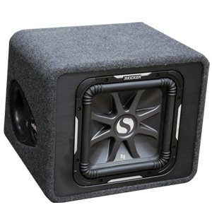 "Kicker 11VS12L72 12"" Loaded Enclosure Subwoofer"