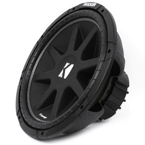 "Kicker 43C154 15"" CompC Series 4-ohm SVC 300W RMS Car Subwoofer"