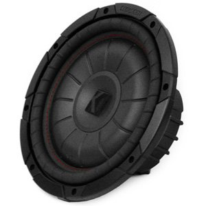 "Kicker 43CVT104 10"" CompVT Single 4 ohm 350W RMS Car Subwoofer"