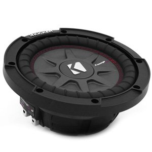 "Kicker 43CWRT82 8"" CompRT 600W Max Shallow Mount Subwoofer"