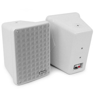 "Kicker 46KB6G 6.5"" 2-Way Indoor Outdoor Marine Speakers Grey Pair"