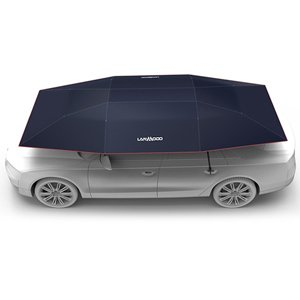 Lanmodo Automatic Car Umbrella Roof Cover Sun Shade Tent 4.8x2.3M Navy