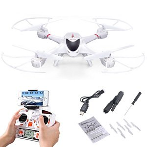 MJX X400 FPV RC Quadcopter + C4010 720P Camera 6 Axis Gyro