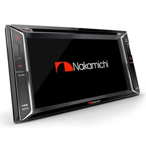 "Nakamichi Na1610 Bluetooth 6.2"" Dvd Usb Car Stereo Cd Player Mul"