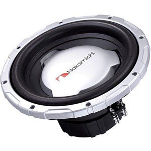 "Nakamichi SP-W3501D 12"" Dual 4-ohm 3000W Competition Subwoofer"