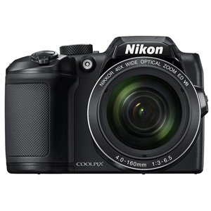 Nikon B500 COOLPIX Digital Compact Camera 16MP 40x Zoom (Black)