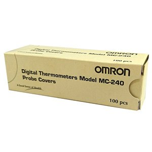 Omron Thermometer Probe Covers for MC240 MC246 MC341 MC343 Pack of 100