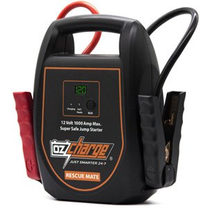 OzCharge RM1000 Rescue Mate Batteryless Capacitor Jump Starter