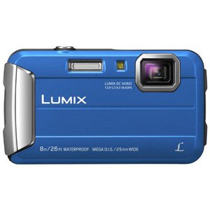 Panasonic Lumix DMC-FT30 Digital Camera 16MP 4x Zoom (Blue)