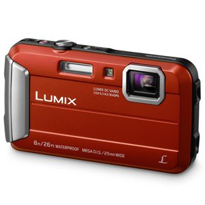 Panasonic Lumix DMC-FT30 Digital Camera 16MP 4x Zoom (Orange)