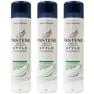 Pantene PRO-V 220g Stay Smooth Hairspray 2 Pack