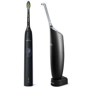 Philips HX8424/10 Sonicare 4300 Electric Toothbrush & Airfloss Black