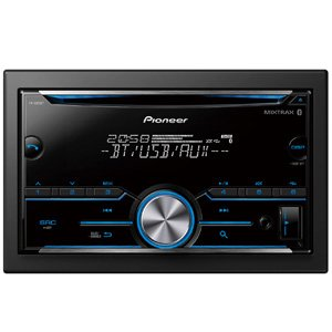 Pioneer FH-S505BT Dual Bluetooth CD FM USB Spotify Siri Eyes