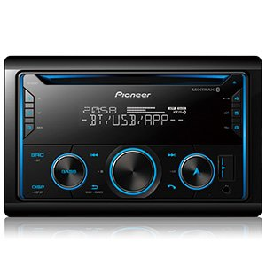 Pioneer FH-S525BT Dual Bluetooth CD FM USB Receiver Smart Sync App