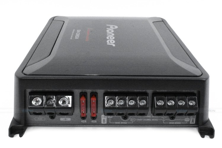 Pioneer GM-D9604 1600W Watt 4 Bridgeable Channel Car Amplifier