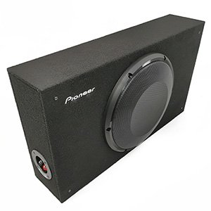 "Pioneer TS-A2500LB 10"" A-Series Shallow Mount Loaded Subwoofer Box"