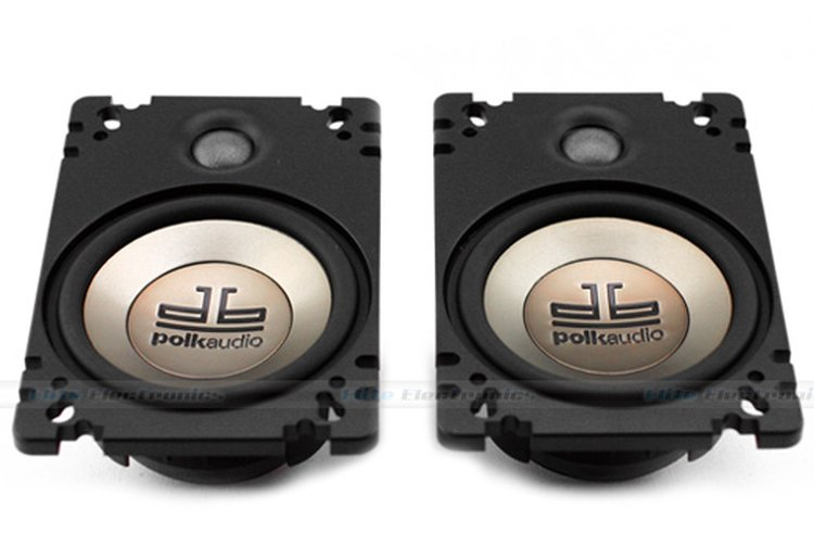 Polk Audio Db461p 4x6 Car  Marine Speakers