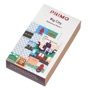 Primo Toys Big City Adventure Pack Map & Story Book Bluetooth