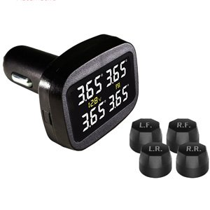 Promata Mata C External Wireless TPMS Tyre Pressure Monitor System 4WD