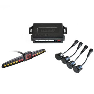 Promata 4 Sensor Rear Parking Assist System w/ Visual Display