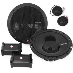 "Rockford Fosgate P165-SE Punch 6.5"" 2-Way Euro Fit Component System"