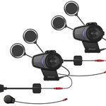 Sena 10S-01D Dual Pack Motorcycle Bluetooth Intercom Headset