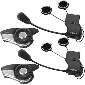 Sena 20S EVO Dual Headset Motorcycle Bluetooth Comms Intercom