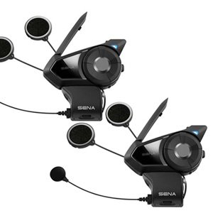 Sena 30K Dual Motorcycle Bluetooth Mesh-Network Intercom Headset