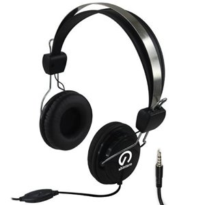 Shintaro Stereo Headset w/ Inline Microphone Combo 3.5mm Jack