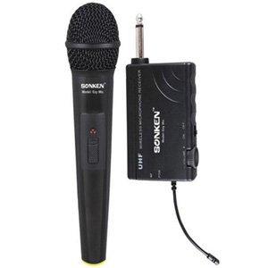 Sonken EZY MIC UHF Rechargeable Wireless Microphone Kit