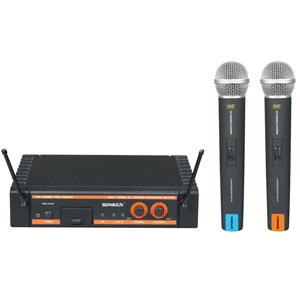 Sonken WM-2000R Dual 16 Channel Wireless Microphone System