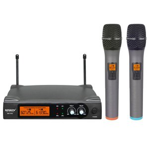 Sonken WM700D2 UHF Wireless Microphones with Receiver D2