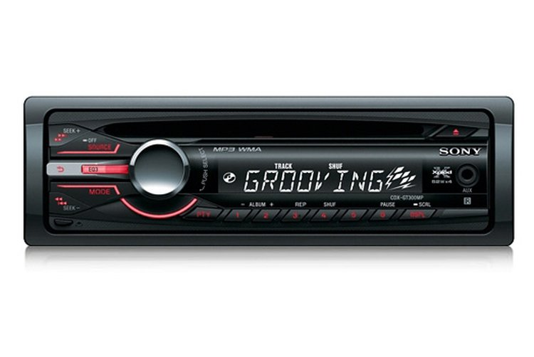sony cdxgt300mp car audio receiver