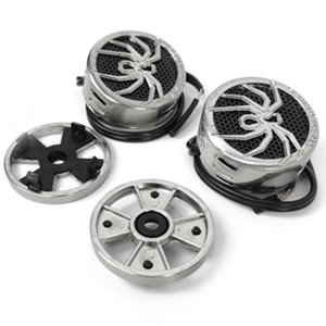 "Soundstream TWS.4 200W Max 1"" Niobium Micro Dome Car Audio Tweeters"