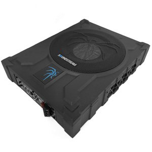 "Soundstream USB-10P 1000W Shallow 10"" Sub Enclosure Built-In Amplifier"