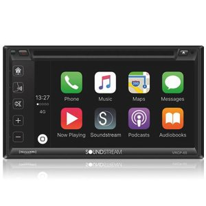 "Soundstream VRCP-65 6.2"" CD DVD Bluetooth iPhone Apple Car Play"