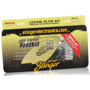 Stinger RKXLIC License Plate & Brake Light Vibration Damping Kit