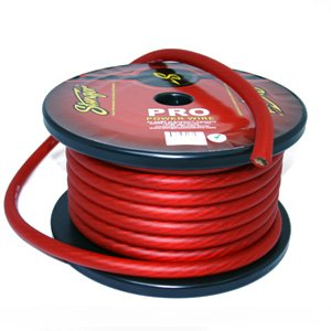 Stinger 1/0 Gauge Red Power Wire SPW10TR