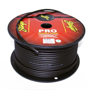 Stinger 8 AWG Gauge Power Wire SPW18TB