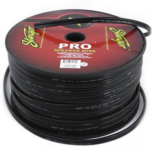 Stinger 14 AWG PRO Series Speaker Cable SPW514BK