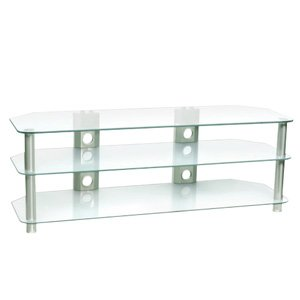 Studio Acoustics SVR360 3 Tier Glass Television Stand