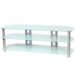 Studio Acoustics SVR360OP 3 Tier Opaque Glass Television Stand
