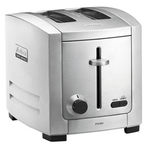 Sunbeam Cafe Series 2 Slice Toaster Stainless Steel TA9200