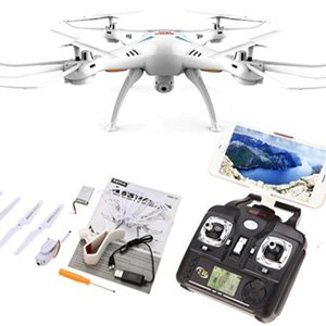 Syma X5SW-1 2.4G WiFi FPV Drone with Camera Live Video HD 2MP RC