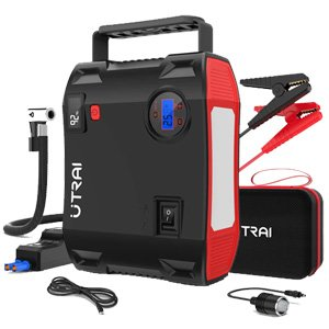 UTRAI Jstar 5 24000mAh Car Jump Starter Power Pack w/ Air Compressor